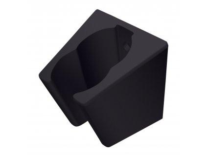 Držák sprchové růžice RUBINETA Grand 623021 - černá