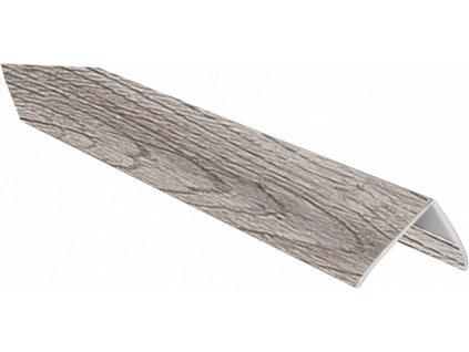 Dokončovací flexi rohový profil LOME - oak grand grey