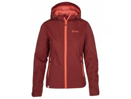 Dámská bunda KILPI Orleti-W tmavě červená