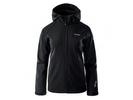 Dámská softshellová bunda HI-TEC Lady Narmo - black