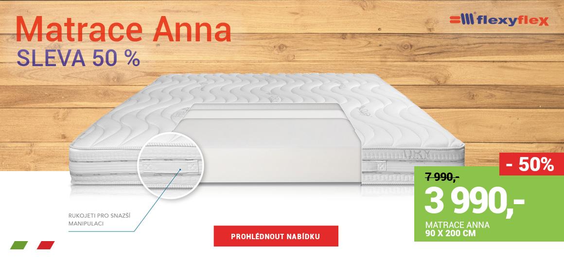 Matrace Anna - sleva 50 %