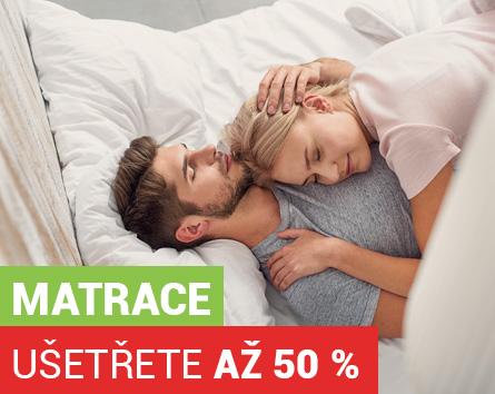Matrace se slevou až 50 % Sleep Centrum