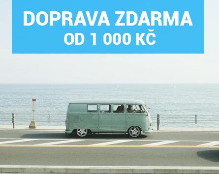 Doprava zdarma od 1 000 Kč