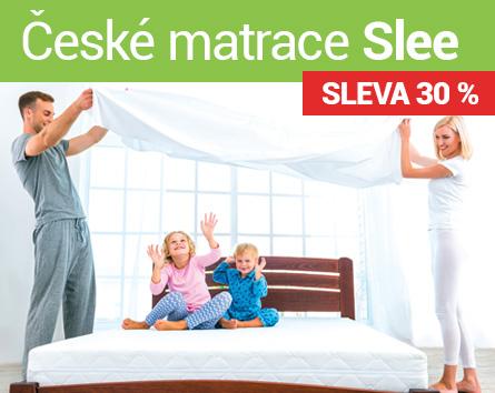České matrace Slee se slevou 30 %