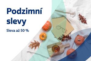 Podzimní slevy - sleva až 50 % Sleep Centrum