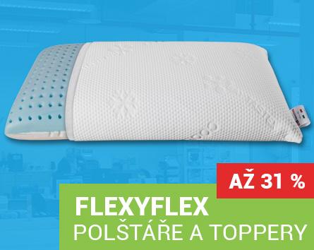 Polštáře a toppery FlexyFlex