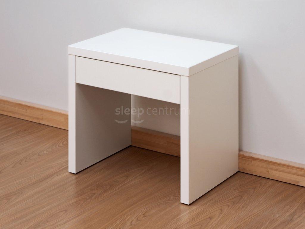 668 noční stolek KLASIK L23 LTD bílá kopie