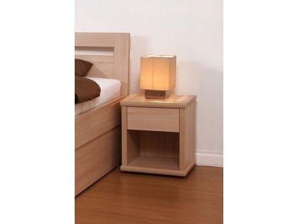 Noční stolek úzký - imitace dřeva (Dekor Třešeň Romana)