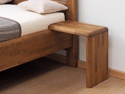 719 noční stolek L dub cink olej palisandr