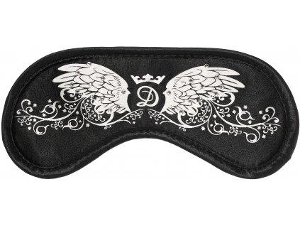 Maska na spaní - Daydream Swarovski Wings Black