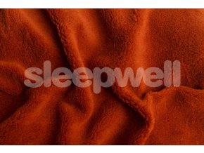 Prostěradlo z mikrovlákna Sleepwell - skořice