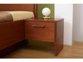 Noční stolek pravý Veronika - divoký dub