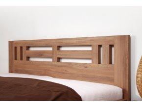 Postel Ella Moon ostrá - imitace dřeva (Dekor Javor kanadský, Rozměr 90 x 200 cm)