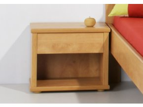 Noční stolek s nikou velký - L20 Hrušeň planá - výprodej