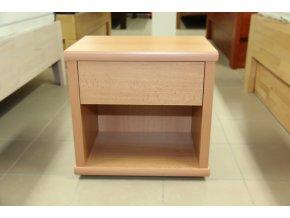 Noční stolek s nikou velký - L20 Buk - výprodej