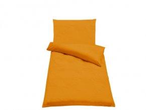 Bavlněné povlečení Guru Uni Oranžová