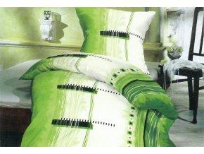 Povlečení bavlněný satén Maxim Green