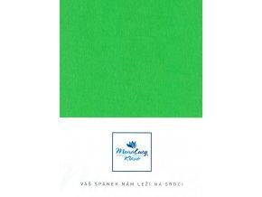 Every jersey prostěradlo - zelená