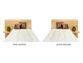 Ahorn Salina box jednolůžková postel
