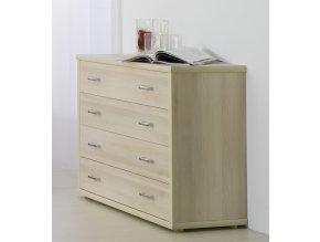 Komoda - L42 - imitace dřeva