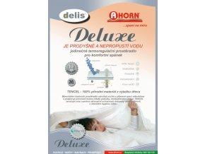 Delis Deluxe prostěradlo Ahorn - chránič na matrace 90 x 200 cm - výprodej