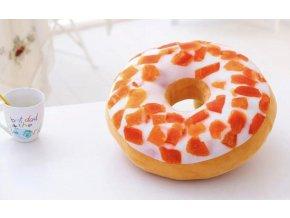 3D Donut č. 8 dekorační polštář