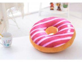3D Donut č. 12 dekorační polštář