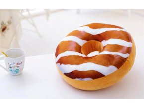 3D Donut č. 14 dekorační polštář