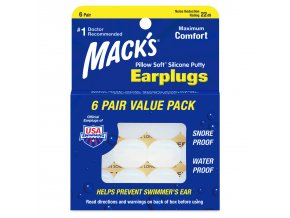 Silicone Ear Plugs Value Pack