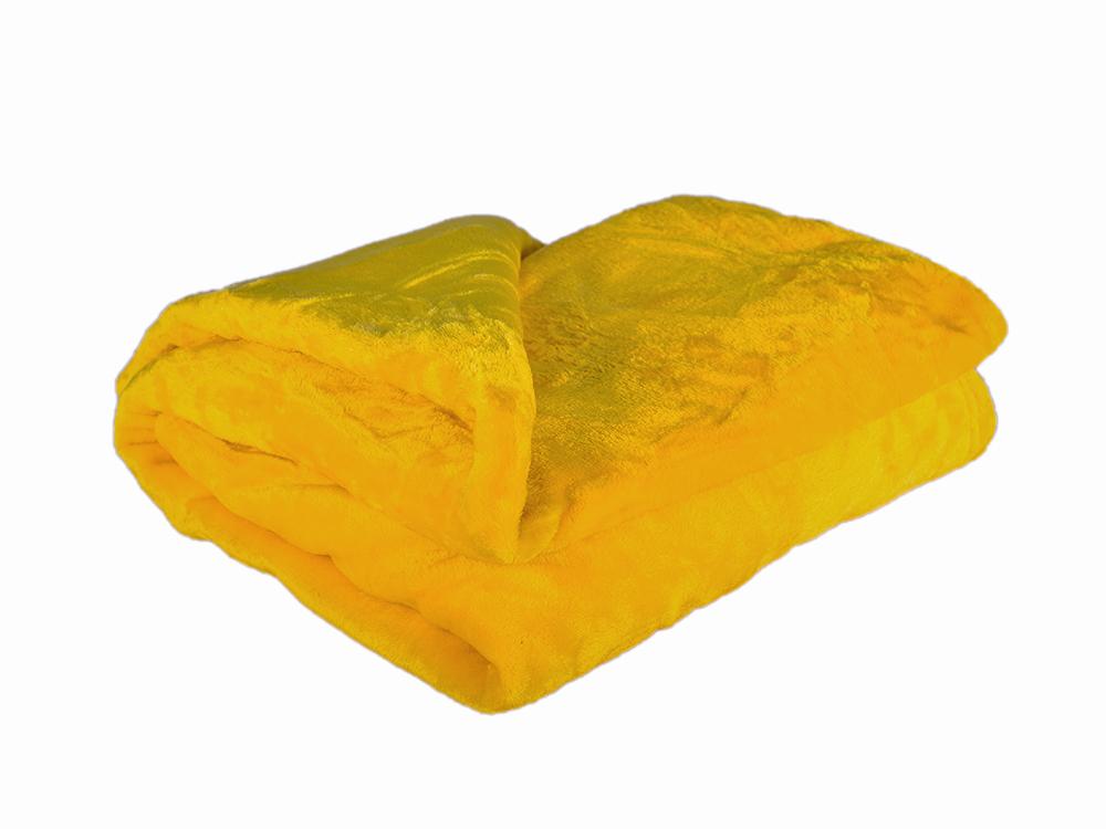 Deka mikroplyš Barva: žlutá