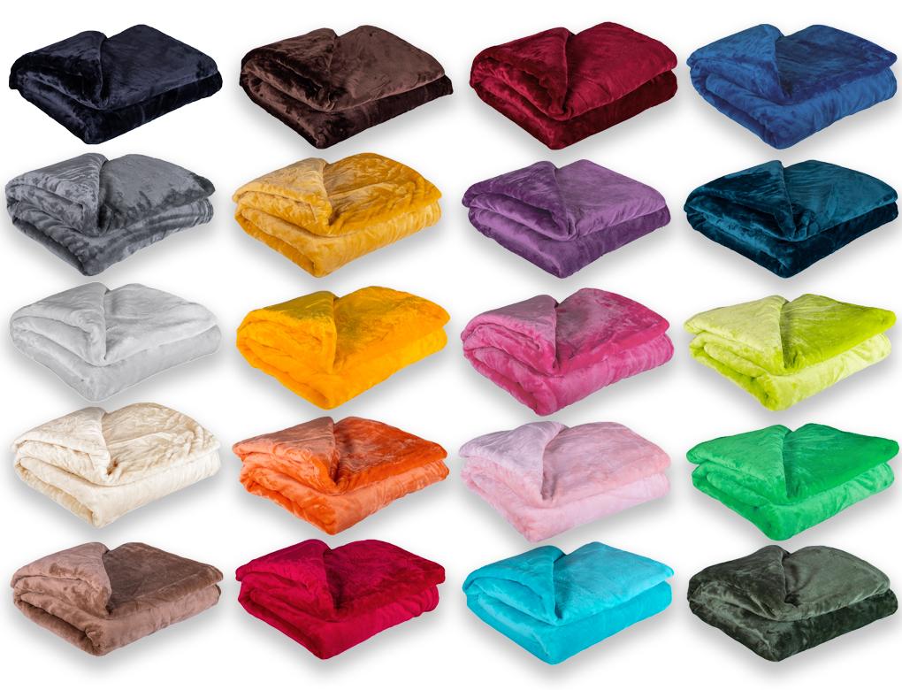 Deka mikroplyš Barva: fialová