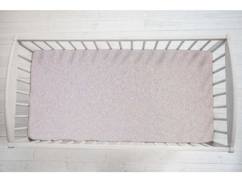 Sleepee Prostěradlo Sleepee We Care pastelová růžová 120x60 cm