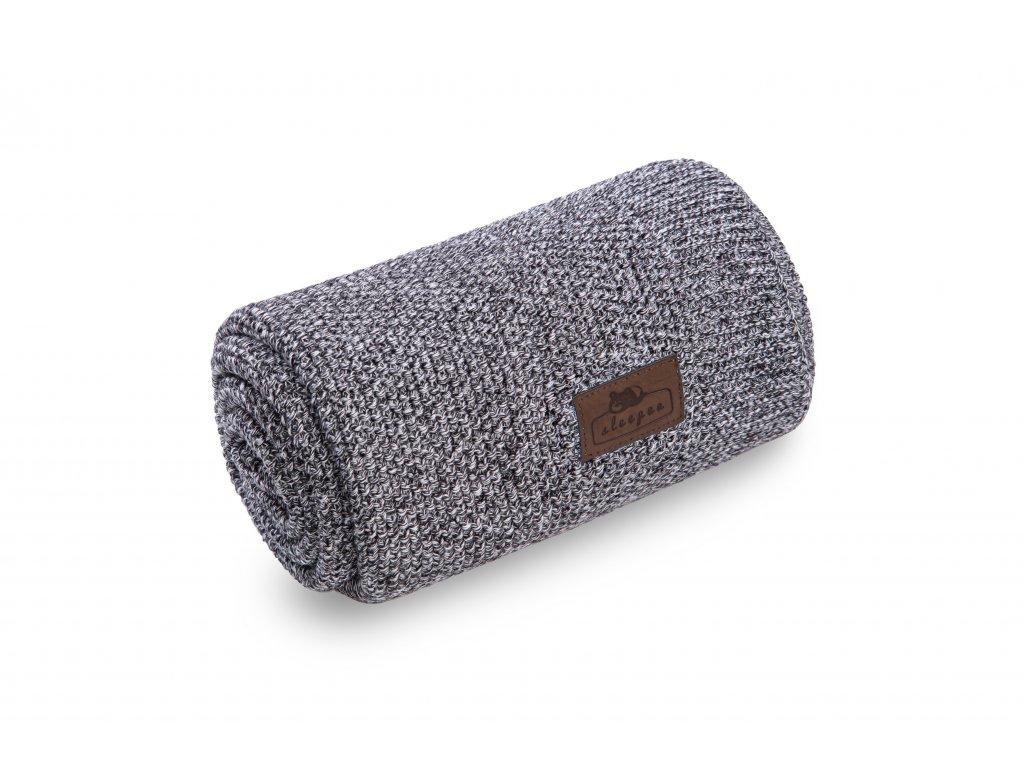 Bambusová deka Sleepee Bamboo Touch Blanket černá a bílá