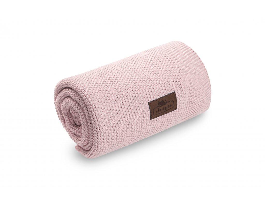 Bambusová deka Sleepee Bamboo Touch Blanket růžová (2)