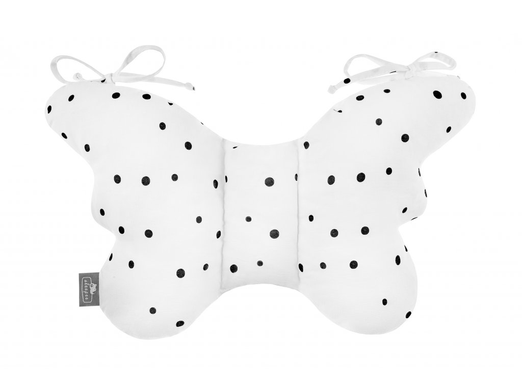Stabilizační polštářek Sleepee Butterfly pillow tečky fixační
