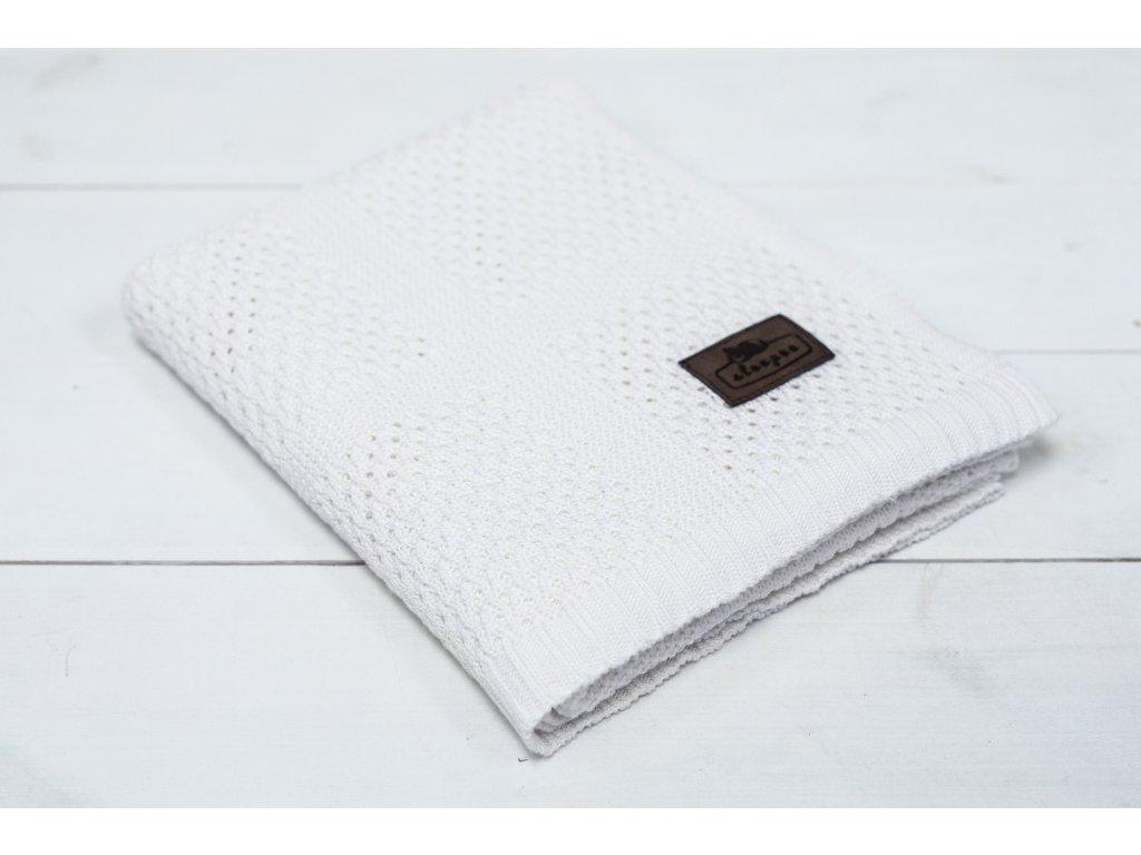 Sleepee Bambusová deka Sleepee Ultra Soft Bamboo Blanket bílá