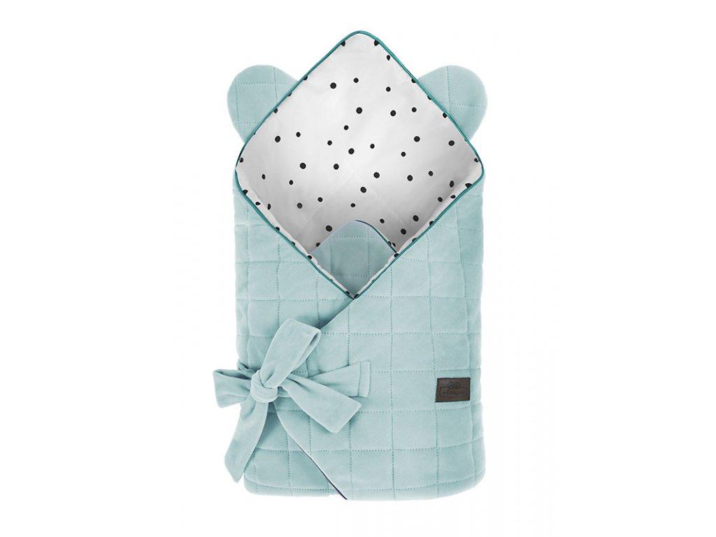 Zavinovačka Sleepee Royal Baby Swaddle Wrap Ocean Mint