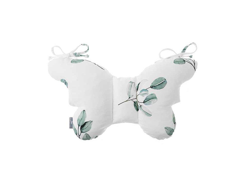 Stabilizační polštářek Sleepee Butterfly pillow Eukalyptus