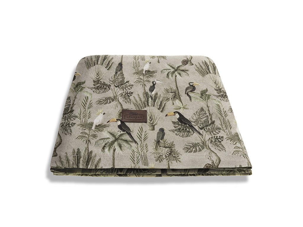 Bambusová deka Sleepee Bamboo 3v1 Magic Jungle Khaki (2)