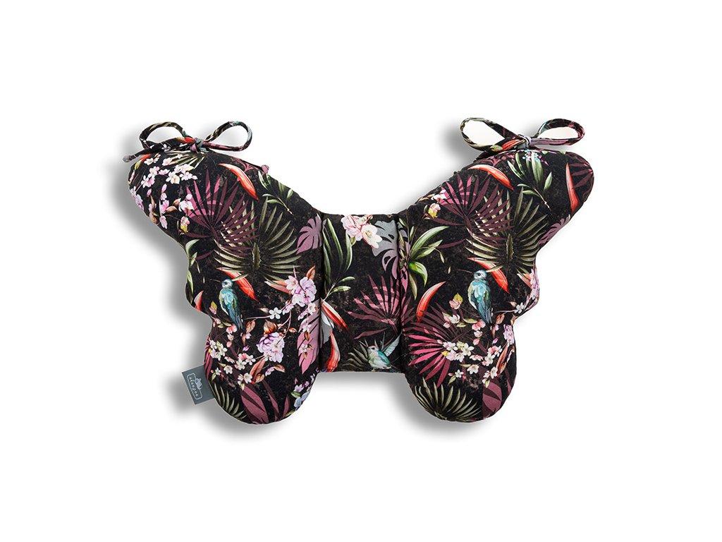 Stabilizační polštářek Sleepee Butterfly pillow Jungle Multicolor