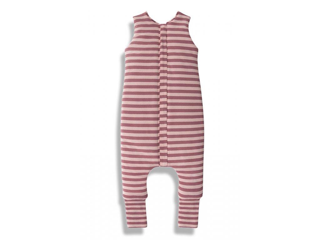 Letní spací pytel s nohavicemi Sleepee růžový