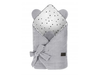 Zavinovačka Sleepee Royal Baby Swaddle Wrap šedá