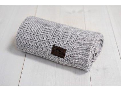 Sleepee Bambusová deka Sleepee Bamboo Touch Blanket šedá