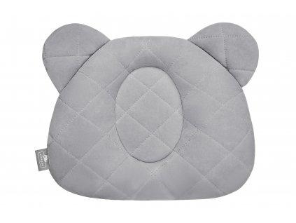 Fixační polštář Sleepee Royal Baby Teddy Bear Pillow šedá