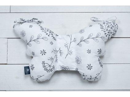 Sleepee Stabilizační polštářek Sleepee Butterfly pillow luční kvítí