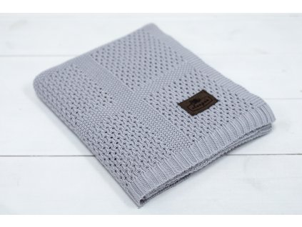 Sleepee Bambusová deka Sleepee Ultra Soft Bamboo Blanket šedá