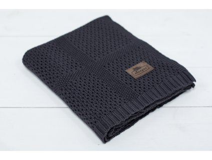 Sleepee Bambusová deka Sleepee Ultra Soft Bamboo Blanket tmavě šedá
