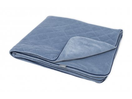 Sametová deka Sleepee Royal Baby modrá 1