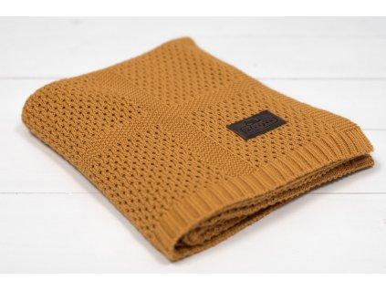 Bambusová deka Sleepee Ultra Soft Bamboo Blanket žlutá 3