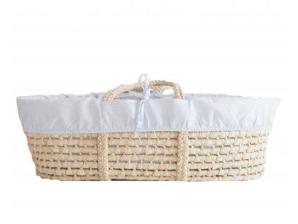 Ahojbaby Potah do Mojžíšova košíku pro miminko Marine